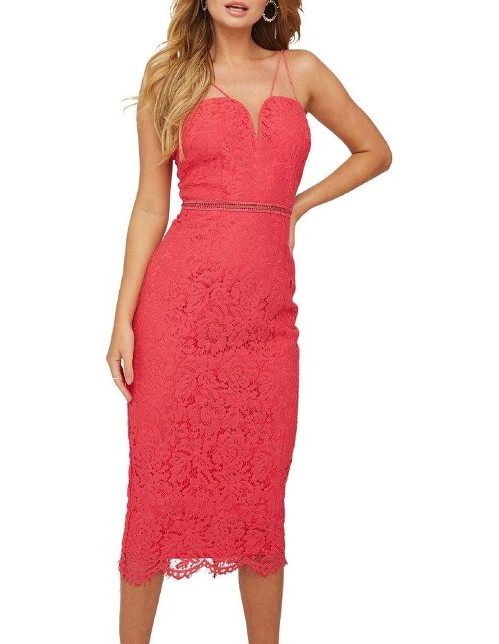 Bralette Strappy Midi Dress image 4