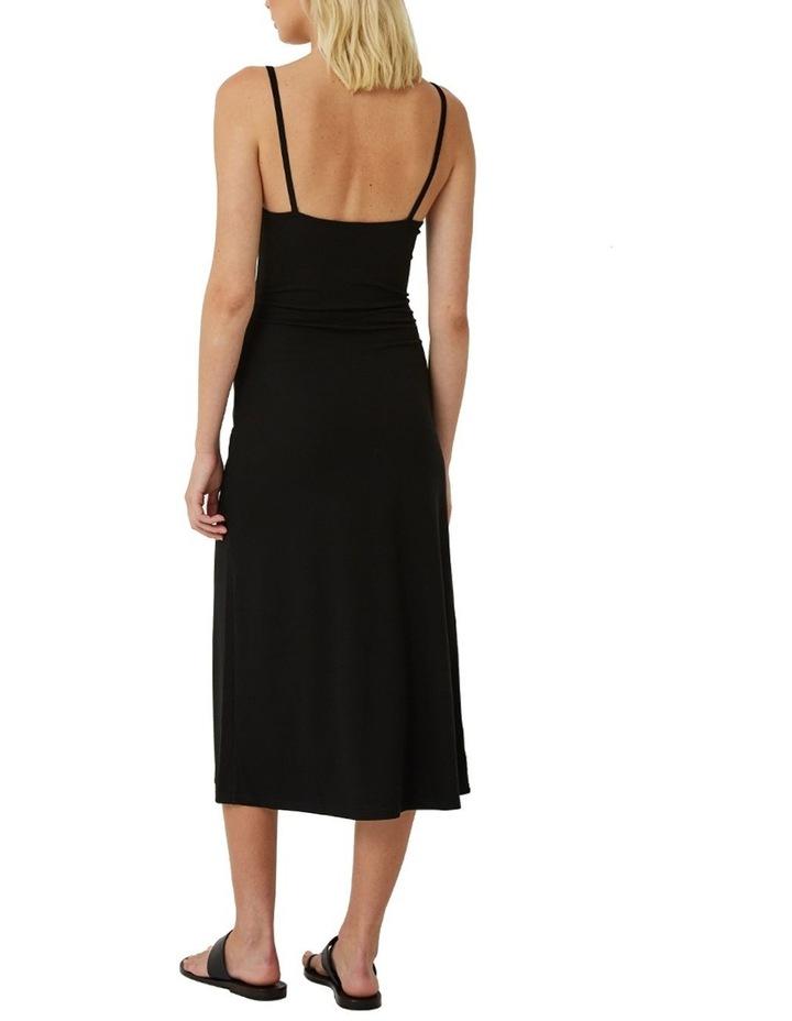 Classic Black Singlet Dress image 3