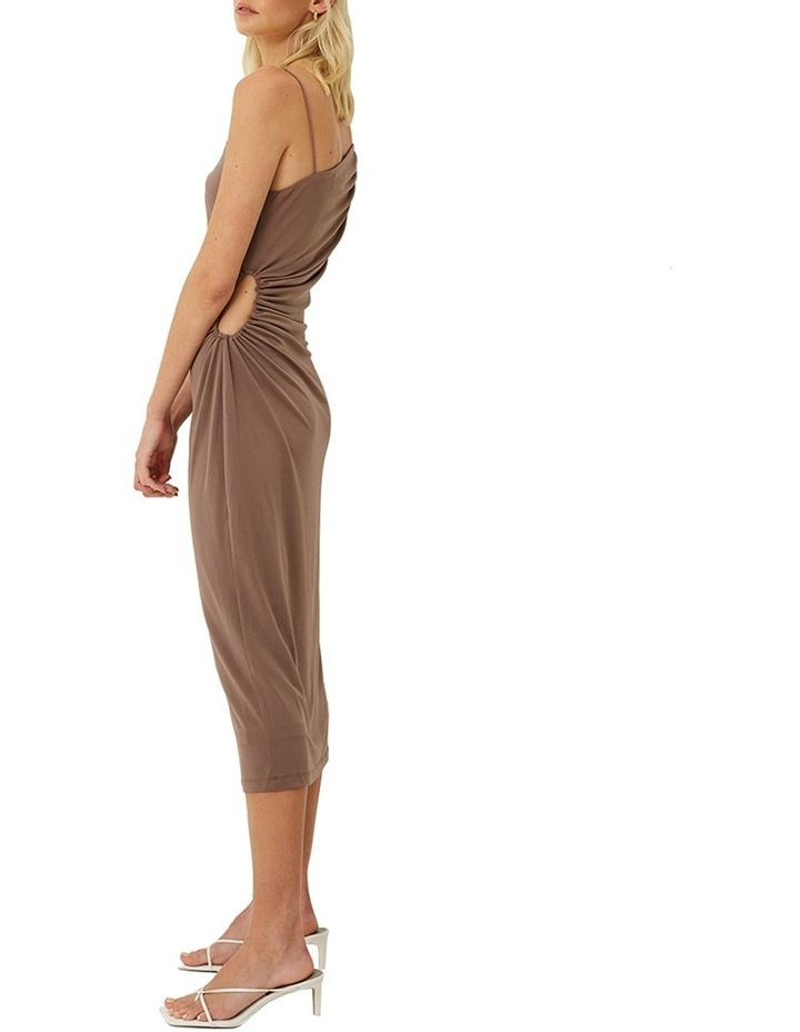 Taylor Ruched Cut Out Midi Dress image 2