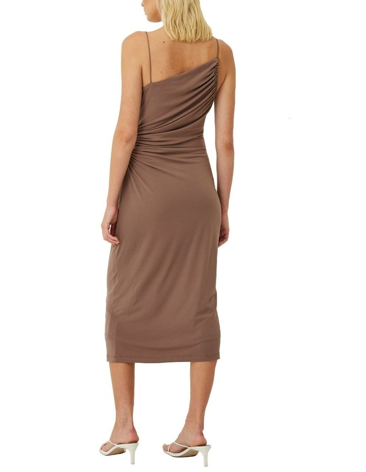 Taylor Ruched Cut Out Midi Dress image 3