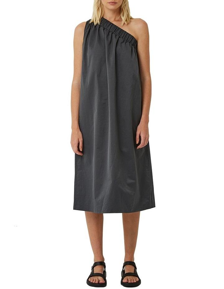 Lola One Shoulder Cotton Blend Dress image 1