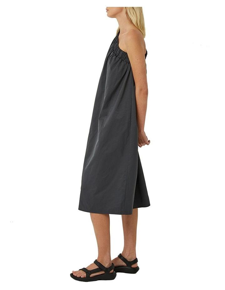 Lola One Shoulder Cotton Blend Dress image 2