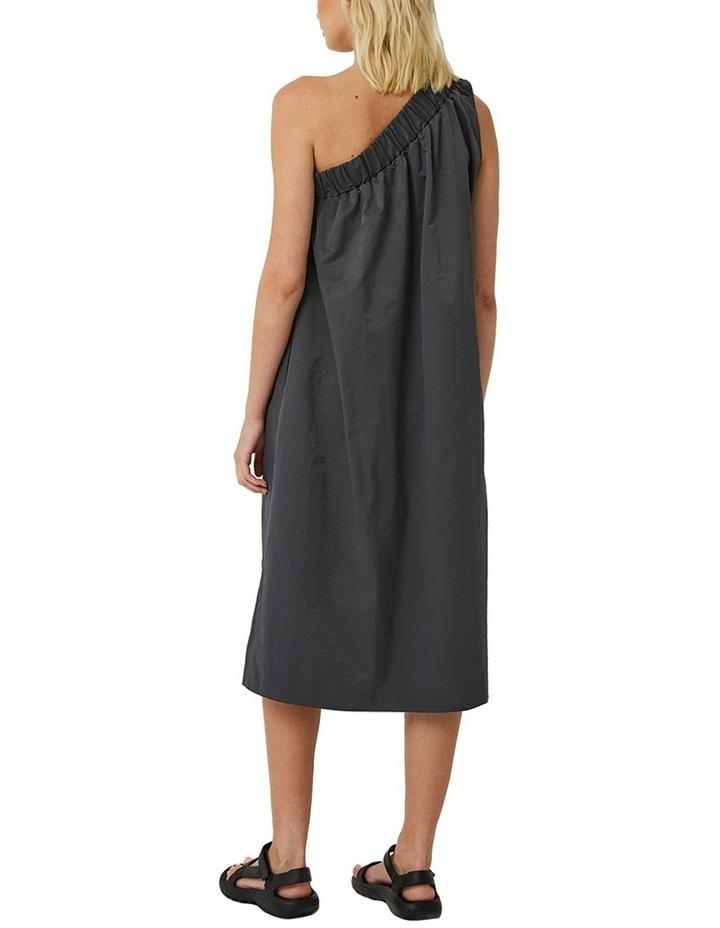 Lola One Shoulder Cotton Blend Dress image 3