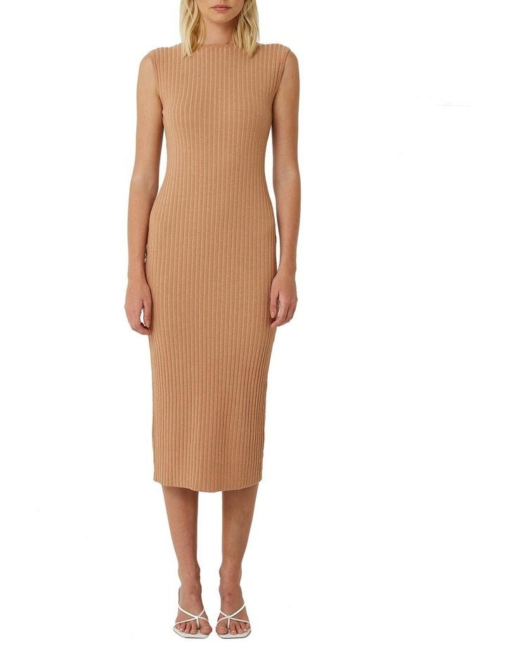 Esme Reversible Ribbed Knit Dress image 1