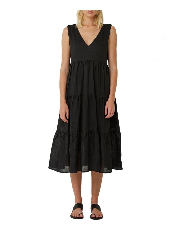 Sundance Tiered Ramie Maxi Dress image 1
