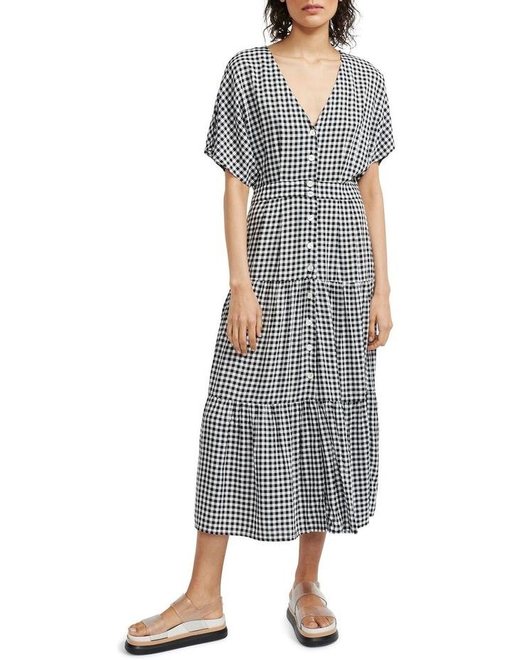 Annika Tiered Midi Dress image 1