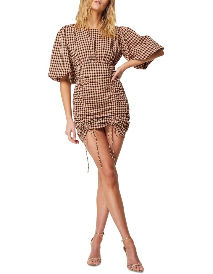The Checked Out Mini Dress image 1