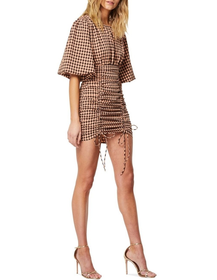 The Checked Out Mini Dress image 2