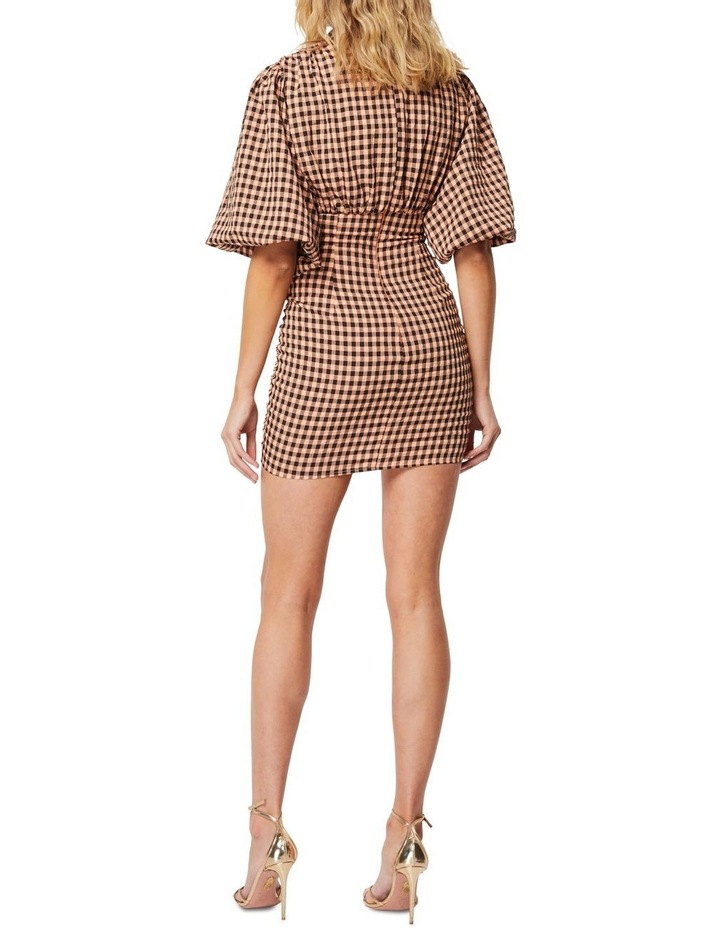 The Checked Out Mini Dress image 3