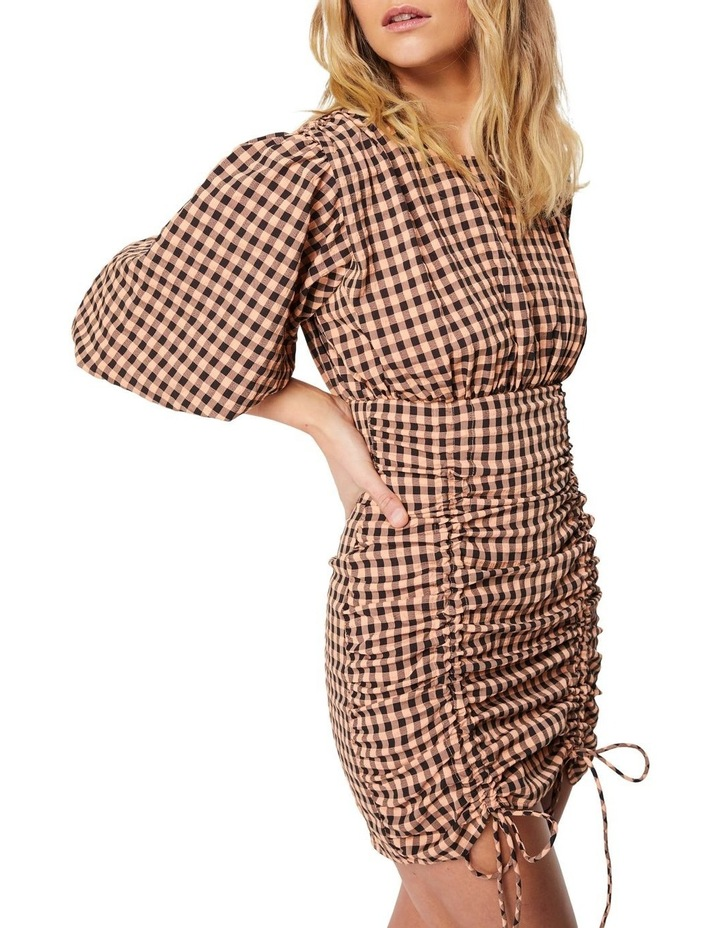 The Checked Out Mini Dress image 5