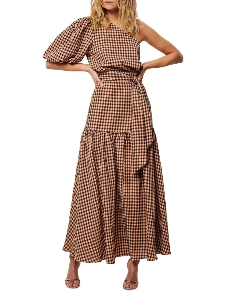 The Checked Out Maxi Dress image 1