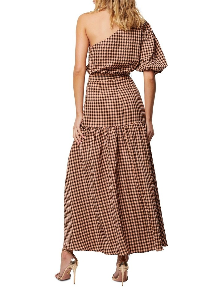 The Checked Out Maxi Dress image 2