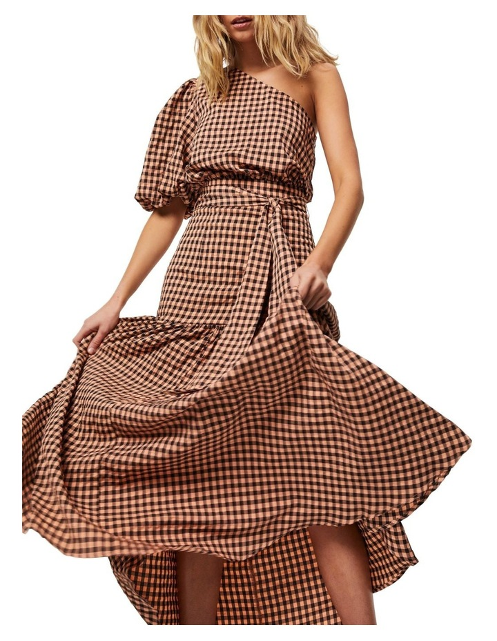 The Checked Out Maxi Dress image 4