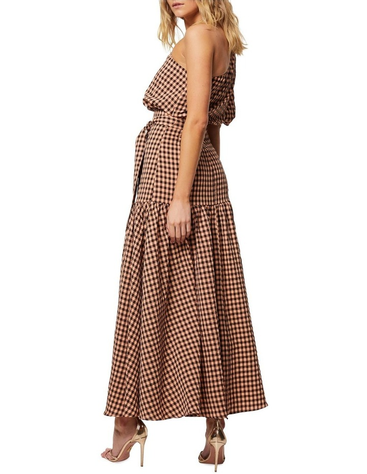 The Checked Out Maxi Dress image 5