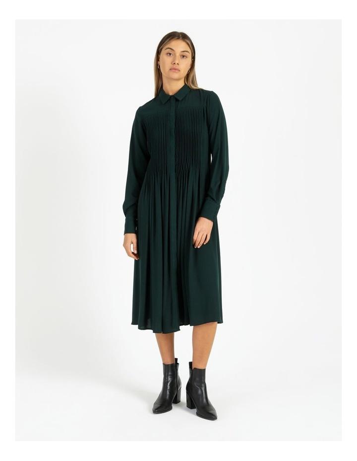 Miranda Long-Sleeve Midi Dress image 1