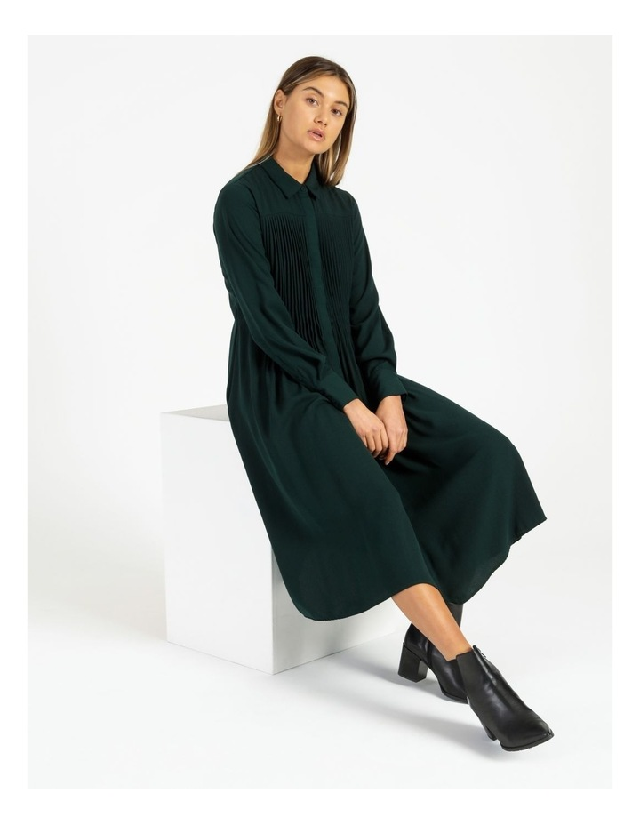 Miranda Long-Sleeve Midi Dress image 2