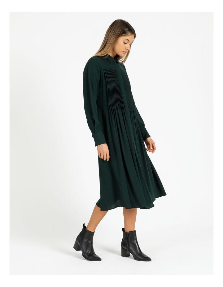 Miranda Long-Sleeve Midi Dress image 3