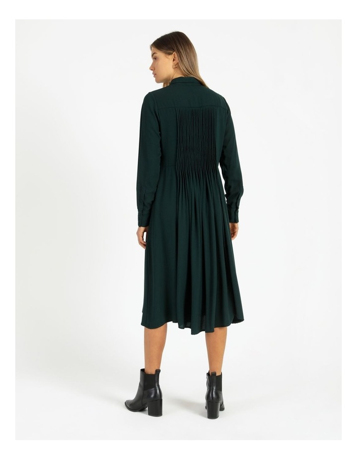 Miranda Long-Sleeve Midi Dress image 4