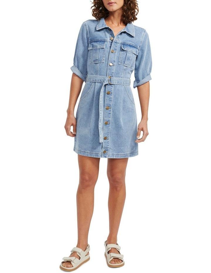 Parker Denim Mini Dress image 1