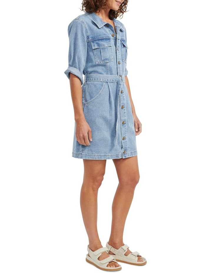 Parker Denim Mini Dress image 2