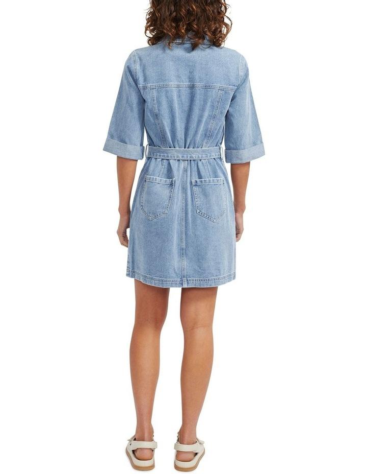 Parker Denim Mini Dress image 3