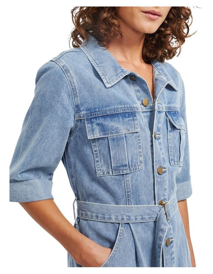 Parker Denim Mini Dress image 4