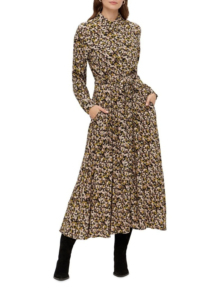 Nula Long Sleeve Long Dress image 1