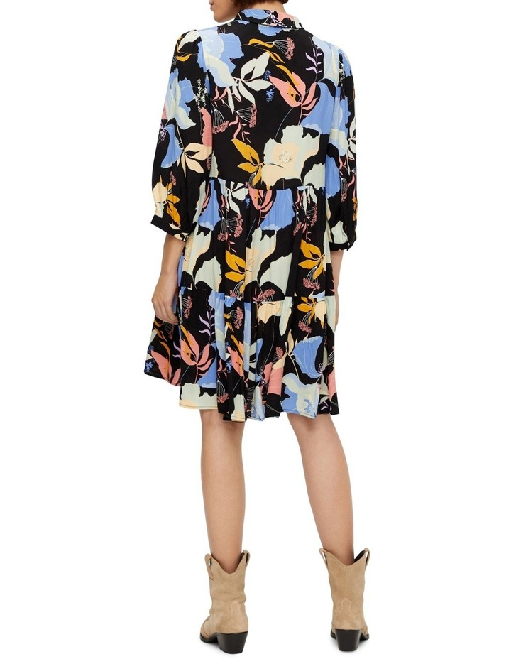 Erika Long-Sleeve Shirt Dress image 2