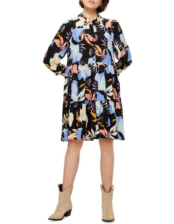 Erika Long-Sleeve Shirt Dress image 3