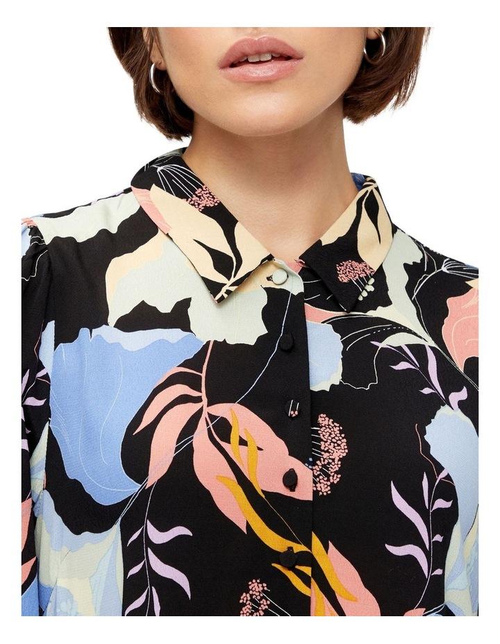Erika Long-Sleeve Shirt Dress image 4