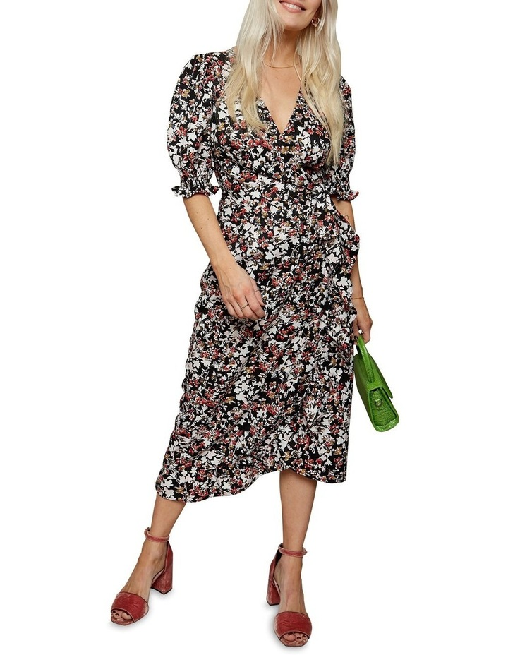 Femme Puff Sleeve Floral Dress image 1