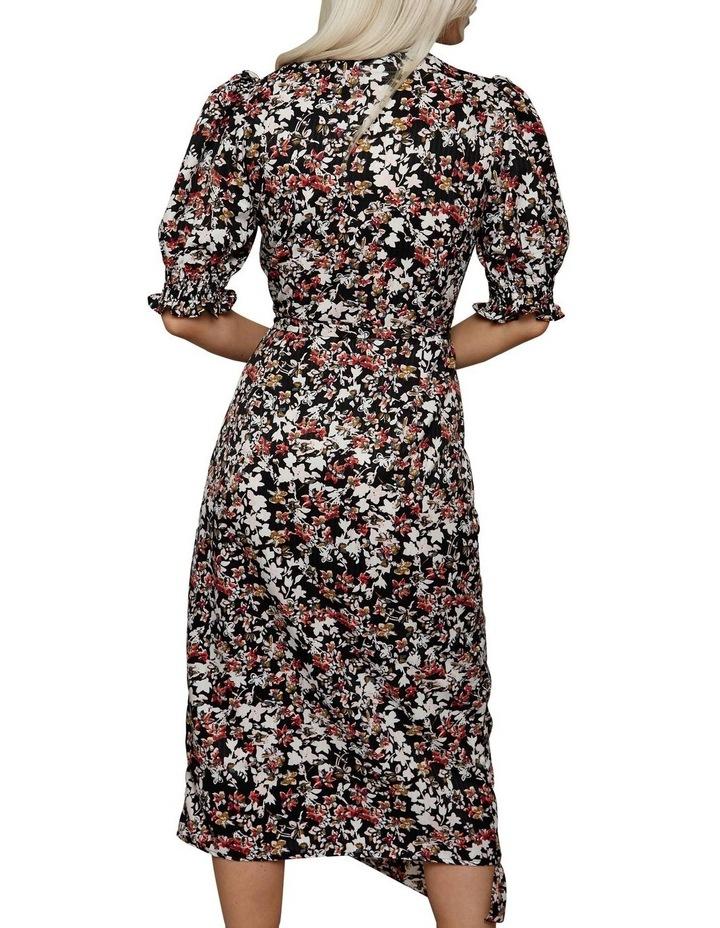Femme Puff Sleeve Floral Dress image 2