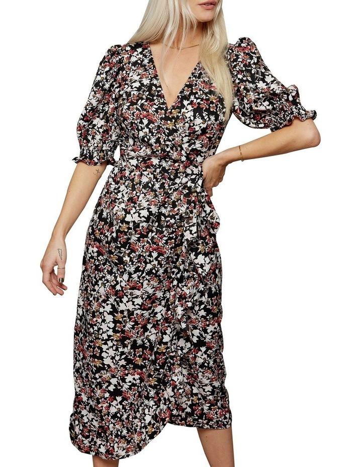 Femme Puff Sleeve Floral Dress image 3