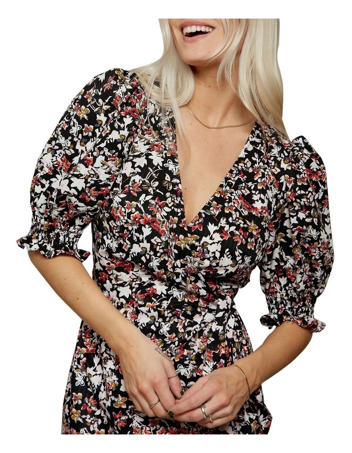 Femme Puff Sleeve Floral Dress image 4
