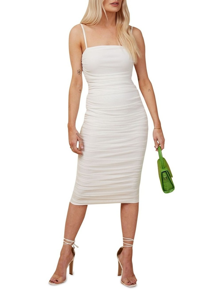 Rouched Midi Dress image 1