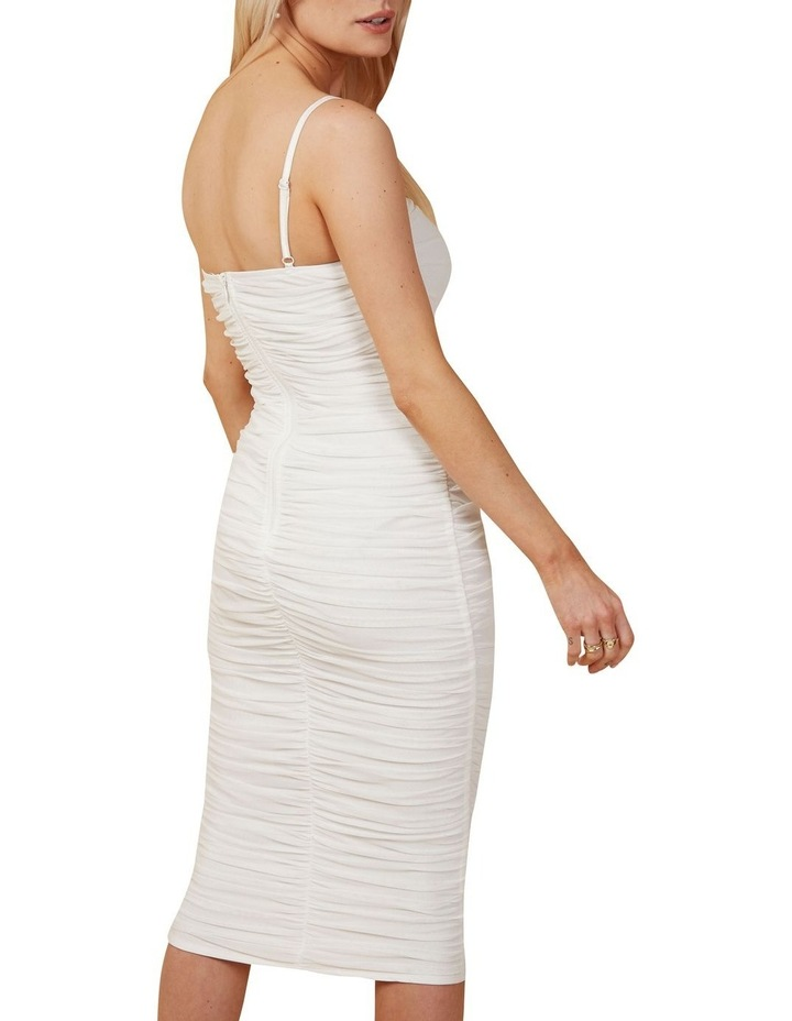 Rouched Midi Dress image 4