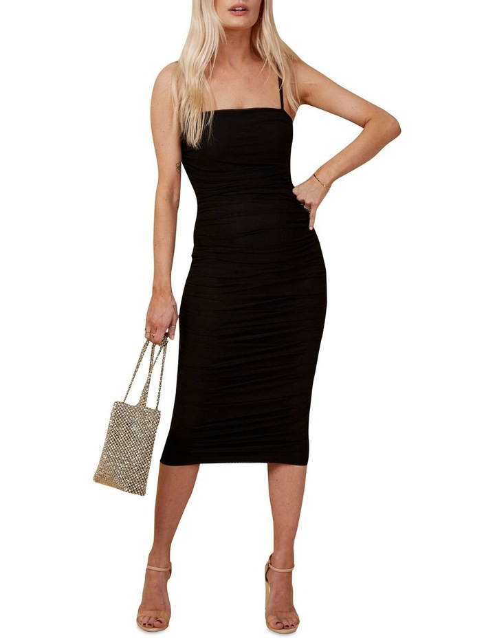 Rouched Midi Dress image 1