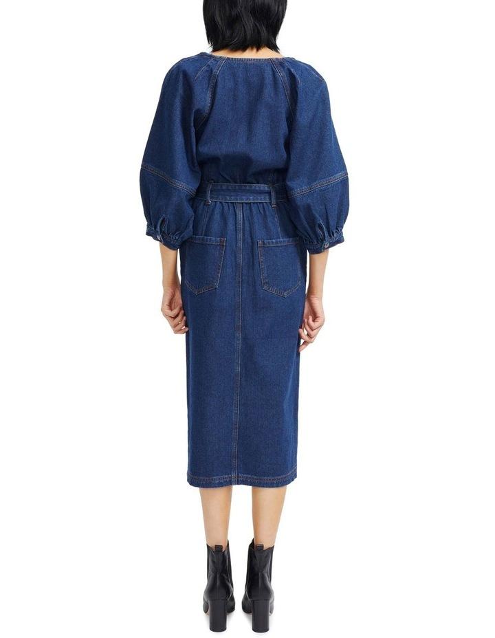 Carmel Denim Midi Dress image 3