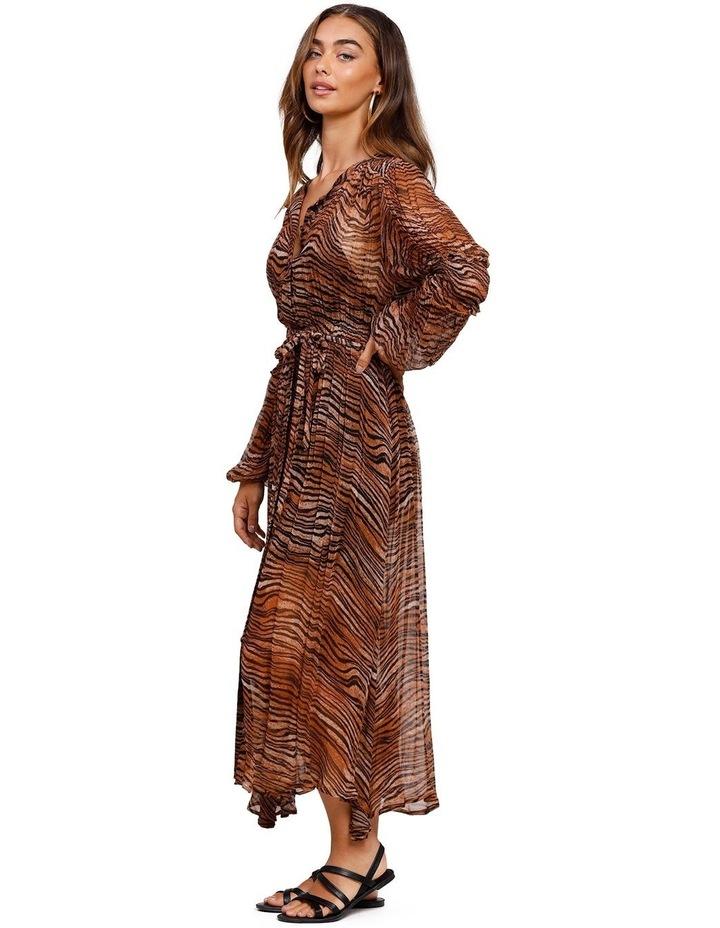 Tigress Smocked Maxi Dress image 2