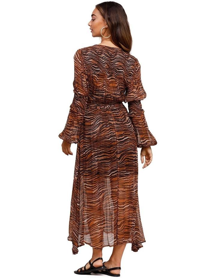 Tigress Smocked Maxi Dress image 3