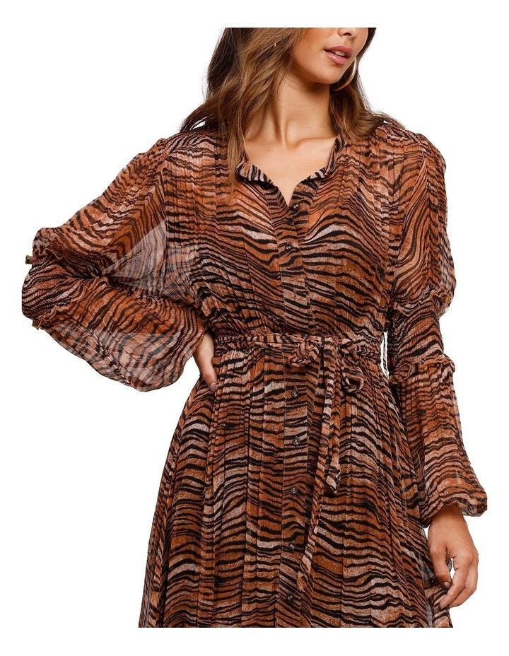 Tigress Smocked Maxi Dress image 4