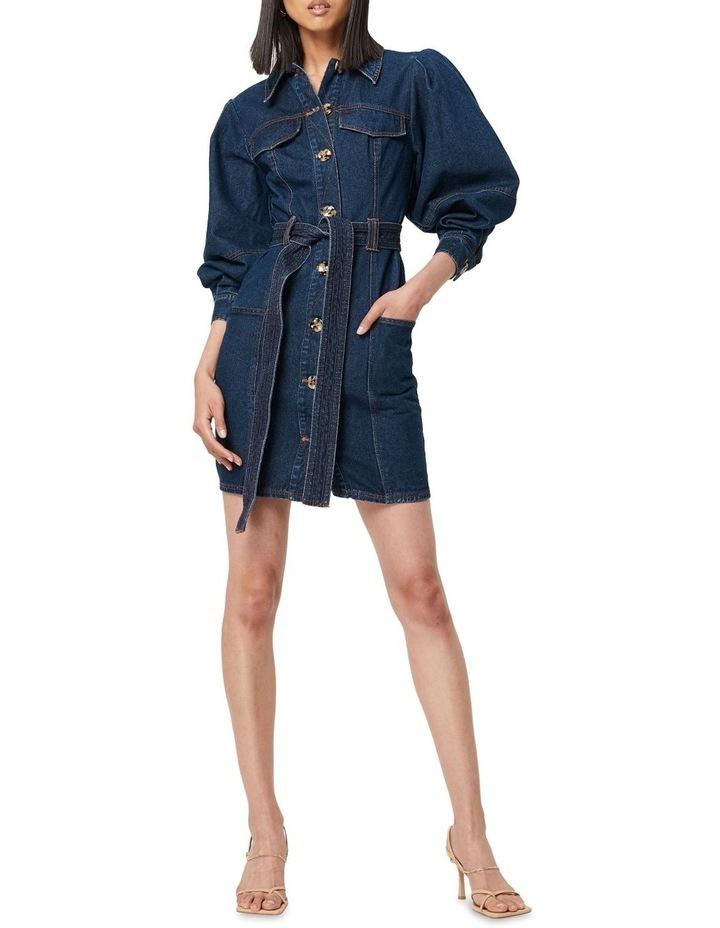 The After Dark Mini Dress Denim image 1