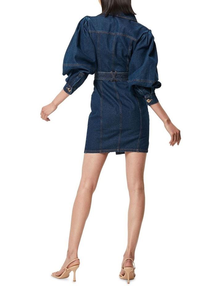 The After Dark Mini Dress Denim image 3