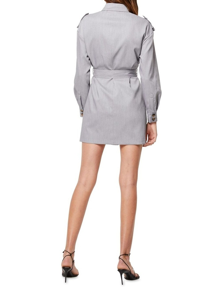 The Empower Me Grey Long Sleeve Dress image 2