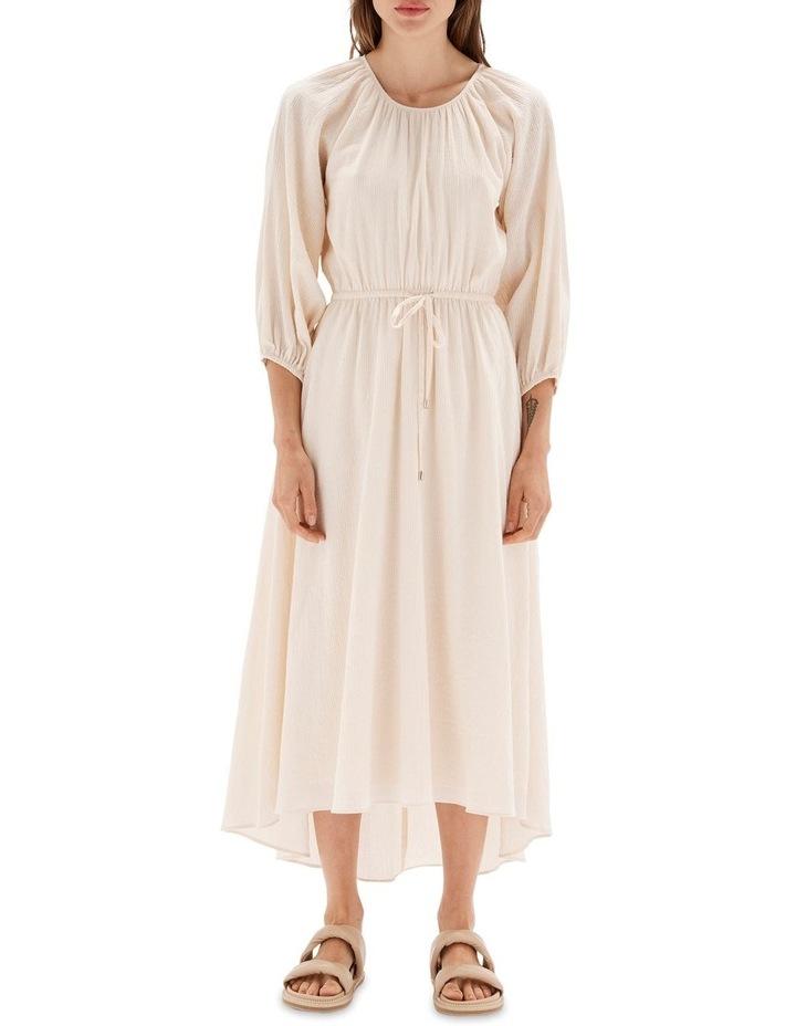 Estella Cream Midi Dress image 1