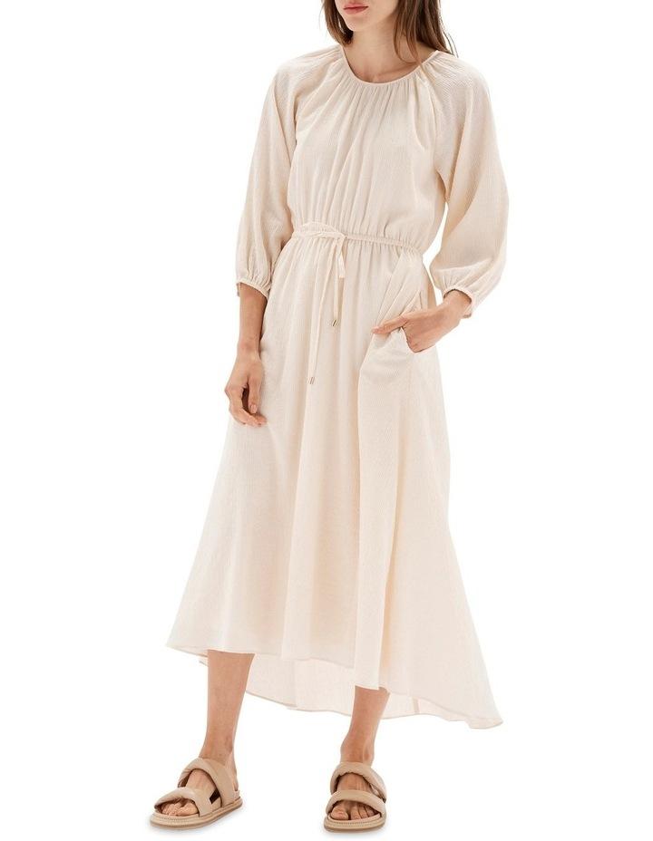 Estella Cream Midi Dress image 2