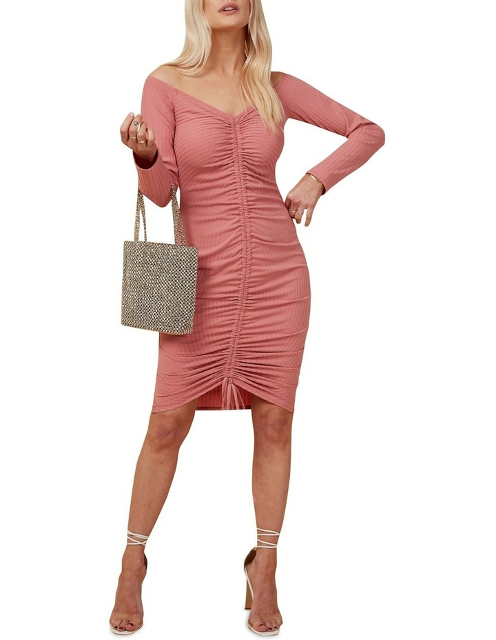 Rouched Knit Dress image 2