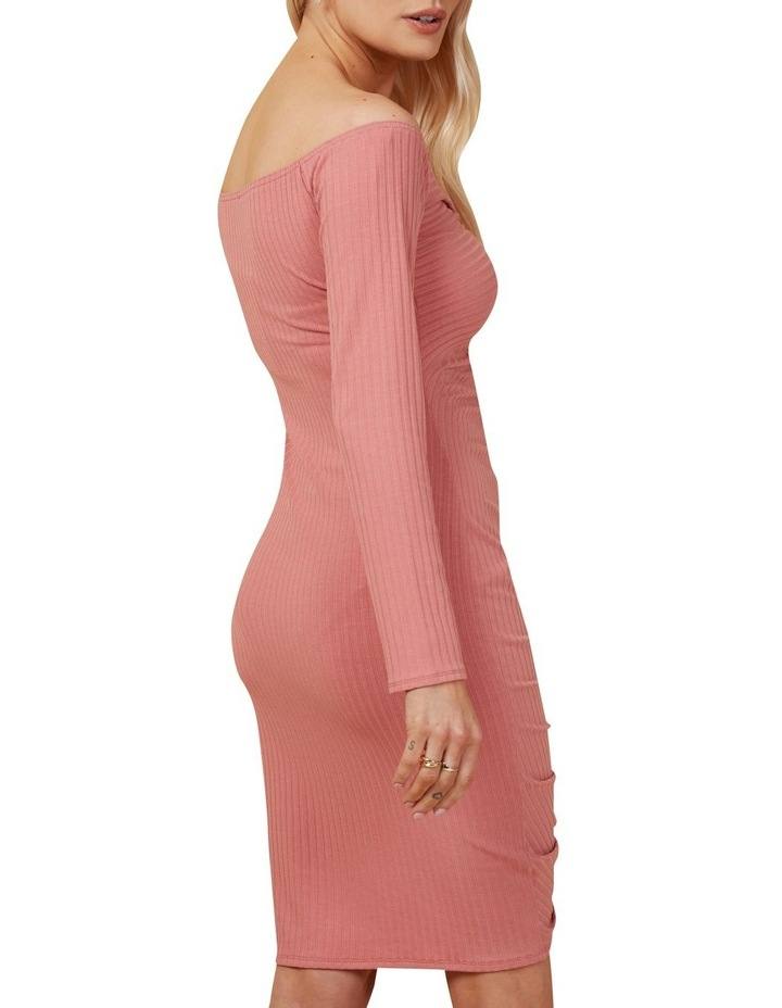 Rouched Knit Dress image 3