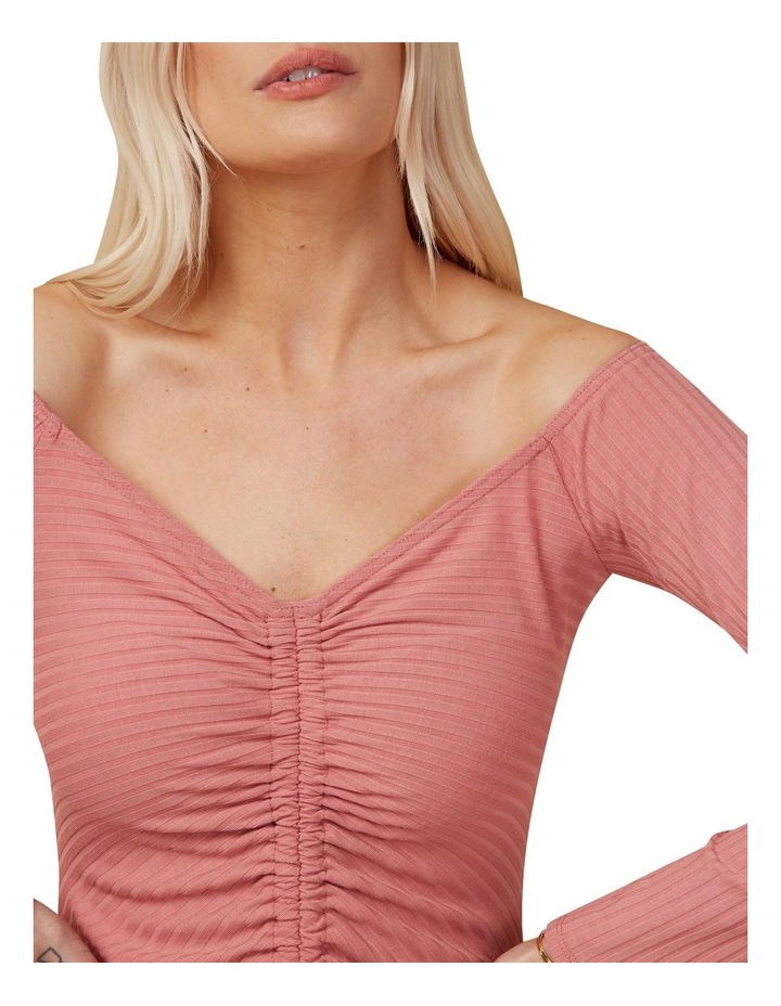 Rouched Knit Dress image 4