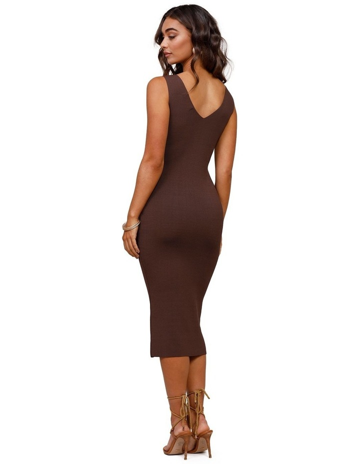 Rustic Knit Midi Dress image 2